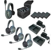 Artikelfoto 11 EARTEC Wireless Intercom UltraLITE HD Mix für 4 Personen HeadSets UL413-HD