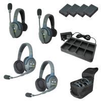 Artikelfoto 11 EARTEC Wireless Intercom UltraLITE HD Mix für 4 Personen HeadSets UL422-HD