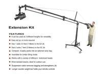 Artikelfoto 11 EZFX JIB Extension KIT - 2.13 Meter Verlängerung für EZ FX Jib