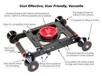 Artikelfoto 11 EZFX EZ-Slider und Dolly - universell für Schiene und Boden