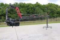Artikelfoto 11 EZFX EZ Crane 7.3 Meter mit Monitorhalter Transporttaschen Pedestal und Remotehead RPT15