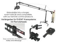 Artikelfoto 66 EZFX EZ JIB Kamerakran für Kameras bis 23Kg