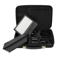 Artikelfoto 22 LED Kopflicht SET BICOLOR LED312DS mit Torblende und Softbox