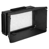 Artikelfoto 33 LED Kopflicht SET BICOLOR LED312DS mit Torblende und Softbox