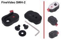 Artikelfoto 11 FineVideo mini Schnellwechsel Halterung SWH-2 für Monitore und Kopflicht