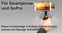 Artikelfoto 22 3 Achsen GIMBAL für Smartphone und GoPro Ikan FLY-X3 PLUS