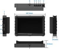 Artikelfoto 33 Lilliput A7S Black Edition 4K fähiger HDMI Monitor 7 Zoll mit Full HD Panel