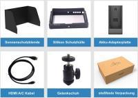 Artikelfoto 55 Lilliput A7S Black Edition 4K fähiger HDMI Monitor 7 Zoll mit Full HD Panel
