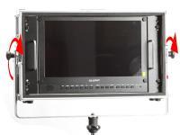 Artikelfoto 11 Lilliput 15.6 Zoll 4K HDR Monitor mit Schwenkrahmen für Lichtstativ BM150-4KS-LP
