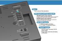 Artikelfoto 22 Lilliput 23.8 Zoll 12G-SDI 4K Monitor 3840x2160 Pixel BM230-12G