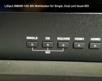 Artikelfoto 1010 Lilliput 28 Zoll 12G-SDI 4K Monitor mit 4 x HDMI VGA bis 3840x2160 50Hz BM280-12G