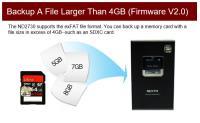 Artikelfoto 33 Festplatte Nextodi ND2730 USB eSATA mobiler Foto Video Speicher
