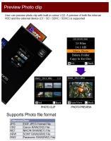 Artikelfoto 55 Festplatte Nextodi ND2730 USB eSATA mobiler Foto Video Speicher