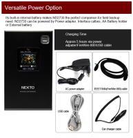 Artikelfoto 88 Festplatte Nextodi ND2730 USB eSATA mobiler Foto Video Speicher