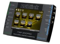 Artikelfoto 22 RGBLink MSP 200PRO Testmuster Generator HDMI SDI DVI VGA FBAS MSP200PRO