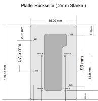 Artikelfoto 22 ROLUX Akkuplatte RL-S Sony V-Mount V-Lock mit Metall Pin
