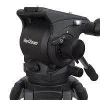 Artikelfoto 44 VariZoom VZTKC100C Videostativ mit Fluid Kopf bis 11Kg Kamera
