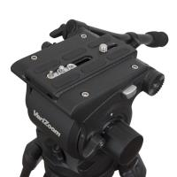 Artikelfoto 66 VariZoom VZTKC100C Videostativ mit Fluid Kopf bis 11Kg Kamera
