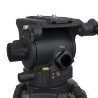 Artikelfoto 77 VariZoom VZTKC100C Videostativ mit Fluid Kopf bis 11Kg Kamera