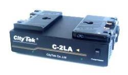 CityTek C-2LA - Akku Ladegrät für Anton Bauer Gold-Mount Akkus