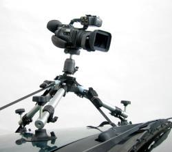 DVTEC DVCarRig Combo   Videostativ zur Montage an Fahrzeugen