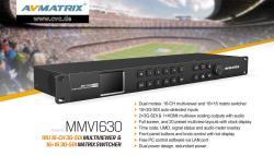 AVMATRIX Multiviewer und Matrix Umschalter MMV1630