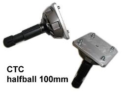 CTC Mount-ADAPTER Remotehead Montageadapter 100mm HalfBall