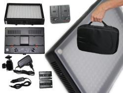 LED Kopflicht SET BICOLOR LED312AS Foto und Video dimmbar