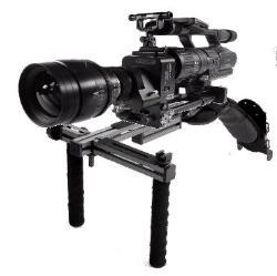 DVTEC DvRigPro HD Schulterstütze für Foto und Filmkameras