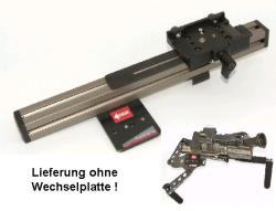 DVTEC MultiRig Schulterstütze Offsetplatte