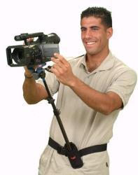 DVTEC JuniorRig   gefederte Kamerastütze Bauchstütze