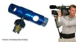DVTEC EngRig Schulterstütze   ROD Gelenkeinheit für 15mm Rods