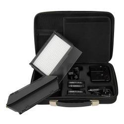 LED Kopflicht SET BICOLOR LED312DS dimmbar mit Torblende