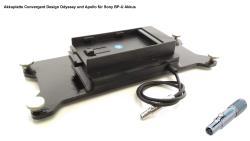 FineVideo Sony BP-U Akkuplatte passend zu Convergent Odyssey Apollo CD-OD-SU