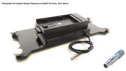 FineVideo Sony NP F Akkuplatte passend zu Convergent Odyssey Apollo CD OD SL