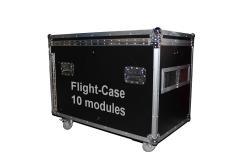 Flightcase LED-Module 10 Stück 450x450mm
