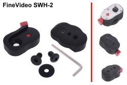 FineVideo mini Schnellwechsel Halterung SWH-2 für Monitore und Kopflicht