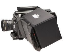 Hoodman HRSA - Blendschutz für Blackmagic Design URSA Kamera - kurze Bauform