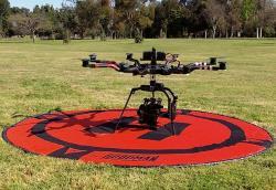 Hoodman Startplatz für Drohnen HDLP8