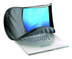 Hoodman HOODMAC Blendschutz für Mac Laptops 11 bis 17 Zoll