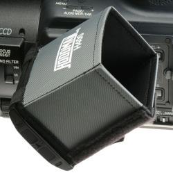 Hoodman H 400 LCD Sonnenblende Blendschutz für LCD Monitore und Kamerasucher