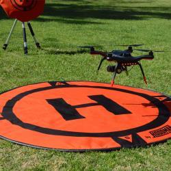 Hoodman Startplatz HDLP für Drohnen wie DJI Mavic GoPro Karma