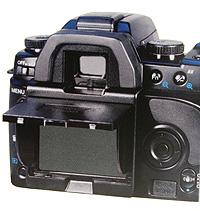 Hoodman H-M5D - Schutzkappe und Blendschutz für Minolta 5D