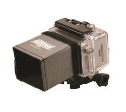 Hoodman H-200 LCD Sonnenblende für GoPro LCD und baugleiche 2 Zoll Monitore