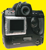 Hoodman H-CD1 - Monitorschutz für Ihre Nikon D1