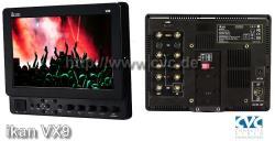 IKAN VX9e 8.9 Zoll HD-SDI LCD Kameramonitor