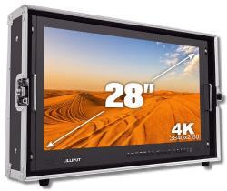 Lilliput 28 Zoll 4K Monitor mit 4 x HDMI SDI VGA bis 3840x2160 50Hz BM280-4K