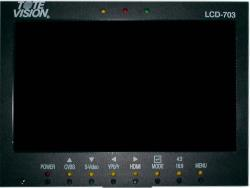 ToteVision LCD-703 HD HDMI Video Kontrollmonitor