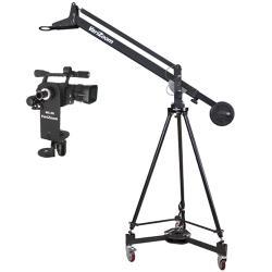 VariZoom VZQUICKJIBKIT-50 Kamerakran mit Stativ Dolly und RemoteHead
