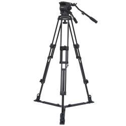 VariZoom VZTK100A Videostativ mit Kopfeinheit bis 8kg